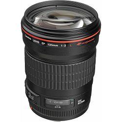 Canon EF 135mm f/2 L USM portretni telefoto objektiv prime lens 135 2.0 1:2,0 F2.0 F2 F/2.0 f/2L (2520A015AA) - CASH BACK promocija povrat novca u iznosu 600 kn