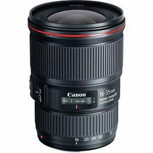 Canon EF 16-35mm f/4 L IS USM širokokutni objektiv wide angle zoom lens 16-35 F4L 4.0 F4 (9518B005AA)- CASH BACK
