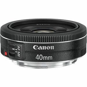 Canon EF 40mm f/2.8 STM standardni objektiv fiksne žarišne duljine 40 2.8 f2.8 2,8 prime lens (6310B005AA)