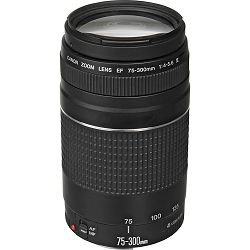 Canon EF 75-300mm f/4-5.6 III telefoto objektiv zoom lens 75-300 F/4.0-5.6 1:4,0-5,6 (6473A015AA)