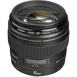 Canon EF 85mm f/1.8 USM portretni telefoto objektiv 85 1.8 1,8 (2519A012AA) - Cash Back