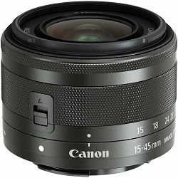 Canon EF-M 15-45mm f/3.5-6.3 IS STM Black standardni zoom objektiv (0572C005AA)