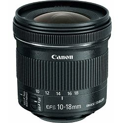 Canon EF-S 10-18mm f/4.5-5.6 IS STM ultra širokokutni objektiv 10-18 f/4,5-5,6 zoom Lens (9519B005AA) - Cash Back