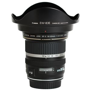 Canon EF-S 10-22mm 1:3,5-4,5 USM 10-22 F3.5-4.5 širokokutni objektiv lens