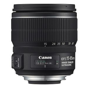 Canon EF-S 15-85mm f/3.5-5.6 IS USM standardni objektiv zoom lens15-85 3.5-5.6 (3560B005AA)