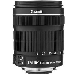 Canon EF-S 18-135 f/3.5-5.6 IS STM allround objektiv 18-135mm f3.5-5.6 zoom lens (6097B005AA)