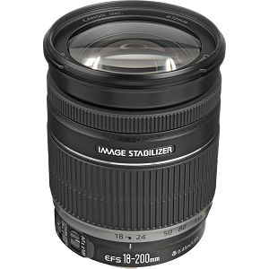 Canon EF-S 18-200mm f/3.5-5.6 IS allround objektiv zoom lens 18-200 3.5-5.6 (2752B005CA)