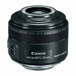 Canon EF-S 35mm f/2.8 IS STM macro prime fiksni širokokutni objektiv (2220C005AA)