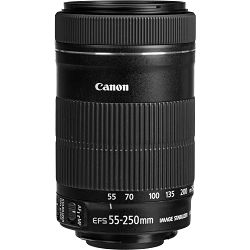 Canon EF-S 55-250 IS STM telefoto objektiv zoom lens 55-250mm 4-5.6 f/4-5.6 (8546B005AA) (bulk)