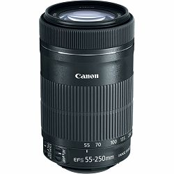 Canon EF-S 55-250mm f/4-5.6 IS STM telefoto objektiv zoom lens 55-250 4-5.6 (8546B005AA) - Cash Back