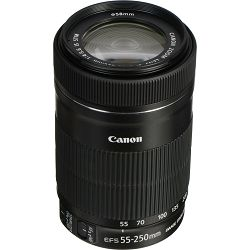Canon EF-S 55-250mm f/4-5.6 IS STM telefoto objektiv zoom lens 55-250 4-5.6 (8546B005AA)