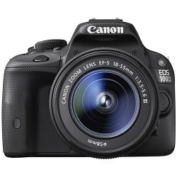 Canon EOS 100D + 18-55mm DC III digitalni fotoaparat DSLR