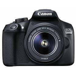 Canon EOS 1300D + 18-55 + 75-300 KIT DSLR digitalni fotoaparat i objektivi EF-S 18-55mm F3.5-5.6 EF 75-300mm f/4-5.6 III double zoom (1160C053AA)