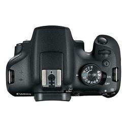 Canon EOS 2000D + 18-55 IS + SB130 torba + 16GB kartica DSLR Digitalni fotoaparat s objektivom EF-S 18-55mm f/3.5-5.6 (2728C029AA)