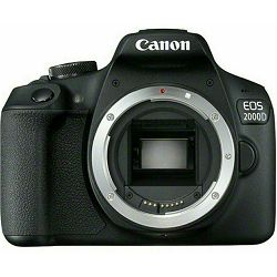 Canon EOS 2000D Body Black DSLR Digitalni fotoaparat tijelo (2728C026AA)