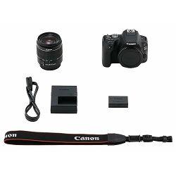 Canon EOS 200D + 18-55 DC III Black DSLR Digitalni fotoaparat i standardni zoom objektiv EF-S 18-55mm f/4-5.6 (2250C011AA) - CASH BACK promocija povrat novca u iznosu 350 kn