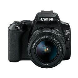 Canon EOS 250D + EF-S 18-55mm f/4-5.6 DC III Black