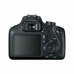 Canon EOS 4000D + 18-55 DC III + 75-300 KIT Black DSLR Digitalni fotoaparat s dva objektiva EF-S 18-55mm f/3.5-5.6 i EF 75-300mm f/4-5.6 III (3011C020AA)