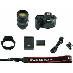 Canon EOS 5D Mark IV + 24-105 L IS II USM kit DSLR digitalni fotoaparat i objektiv Camera with 24-105mm f/4L II Lens (1483C012AA) - INSTANTUŠTEDA