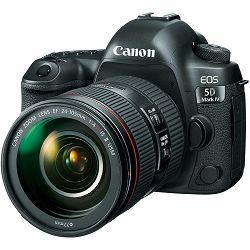 Canon EOS 5D Mark IV + 24-105 L IS II USM kit DSLR digitalni fotoaparat i objektiv Camera with 24-105mm f/4L II Lens (1483C012AA)