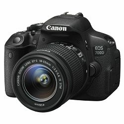 Canon EOS 700D + EF-S 18-55 IS STM digitalni fotoaparat i objektiv 18-55mm