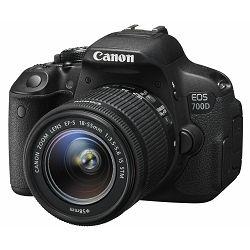 Canon EOS 700D + EF-S 18-55 IS STM + memorijska kartica Kingston SDHC 32GB