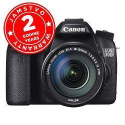Canon EOS 70D + EF-S 18-135 STM WIFI