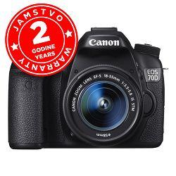 Canon EOS 70D + EF-S 18-55 STM WIFI
