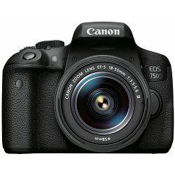 Canon EOS 750D + 18-55 DC III DSLR digitalni fotoaparat s objektivom EF-S 18-55mm f/3.5-5.6 (0592C117AA)