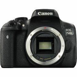 Canon EOS 750D Body DSLR digitalni fotoaparat (0592C001AA)