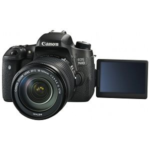 Canon EOS 760D + 18-135 IS STM digitalni DSLR fotoaparat + EF-S 18-135mm f/3.5-5.6 IS STM Zoom objektiv