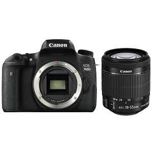 Canon EOS 760D + 18-55 IS STM digitalni DSLR fotoaparat + EF-S 18-55mm f/3.5-5.6 IS STM Zoom objektiv