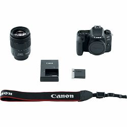 Canon EOS 77D + 18-135 IS USM NANO DSLR Camera with lens Digitalni fotoaparat i objektiv EF-S 18-135mm f/3.5-5.6 (1892C004AA) - GETREADY
