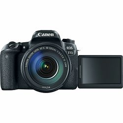 Canon EOS 77D + 18-135 IS USM NANO DSLR Camera with lens Digitalni fotoaparat i objektiv EF-S 18-135mm f/3.5-5.6 (1892C004AA) - CASH BACK promocija povrat novca u iznosu 600 kn