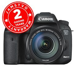 Canon EOS 7D Mark II + 18-135 IS STM DSLR Camera with 18-135mm Lens