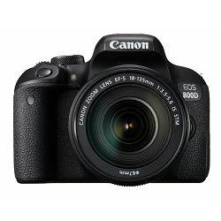 Canon EOS 800D + 18-135 IS USM  DSLR Camera with lens Digitalni fotoaparat i objektiv EF-S 18-135mm f/3.5-5.6