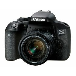 Canon EOS 800D + 18-55 IS STM DSLR Camera with lens Digitalni fotoaparat i objektiv EF-S 18-55mm f/4-5.6 (1895C002AA) - CASH BACK promocija povrat novca u iznosu 600 kn