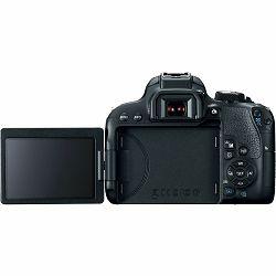 Canon EOS 800D Body 24.2MP FullHD 60fps Dual Pixel CMOS AF WiFi DSLR Camera Digitalni fotoaparat (1895C001AA)