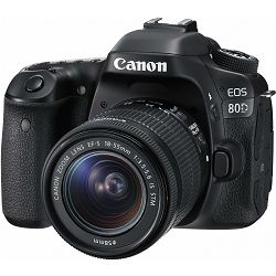 Canon EOS 80D 18-55 IS STM digitalni fotoaparat DSLR Camera with EF-S 18-55mm f/3,5-5,6 Lens
