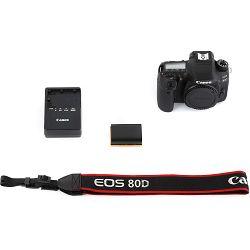 Canon EOS 80D Body DSLR digitalni fotoaparat (1263C010AA)- CASH BACK