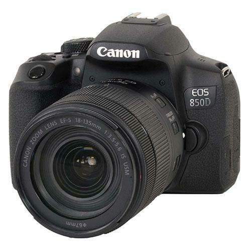 Canon EOS 850D + 18-135 IS USM NANO DSLR digitalni fotoaparat s objektivom 18-135mm f/3.5-5.6 (3925C021AA)