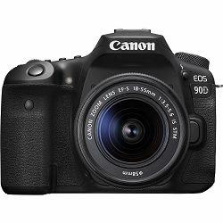 Canon EOS 90D + 18-55 IS STM DSLR digitalni fotoaparat s objektivom EF-S 18-55mm f/3.5-5.6 (3616C030AA)