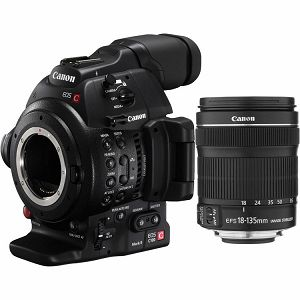 Canon EOS C100 II kit 18-135 Cinema EOS Cameras profesionalna kamera C100 Mark II