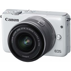 Canon EOS M10 15-45 KIT White bijeli WIFI Mirrorless Digital Camera digitalni fotoaparat + 15-45mm objektiv