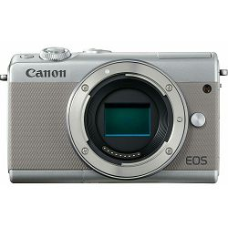 Canon EOS M100 + 15-45 IS STM + 22mm STM Gray Mirrorless Digitalni fotoaparat EF-M 15-45mm 3.5-6.3 i EF-M 22mm f/2 F2 F2.0 (2211C032AA)
