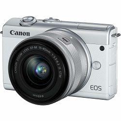 Canon EOS M200 + 15-45 IS STM White Mirrorless Digital Camera crni Digitalni fotoaparat s objektivom EF-M 15-45mm 3.5-6.3 (3700C032AA)