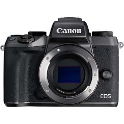 Canon EOS M5 Body WiFi bezzrcaln digitalni fotoaparat Mirrorless Digital Camera (1279C041AA)