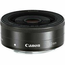 Canon EOS M50 + 15-45 IS STM + 22mm STM KIT Black Mirrorless Digital Camera crni Digitalni fotoaparat s dva objektiva EF-M 15-45mm 3.5-6.3 i EF-M 22mm f/2 F2 F2.0 (2680C073AA) - GETREADY