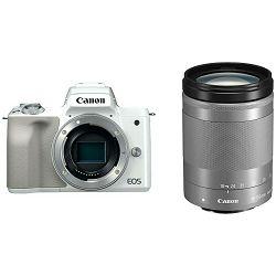 Canon EOS M50 + 18-150 IS STM White Mirrorless Digital Camera bijeli Digitalni fotoaparat s objektivom EF-M 18-150mm f/3.5-6.3 (2681C065AA)