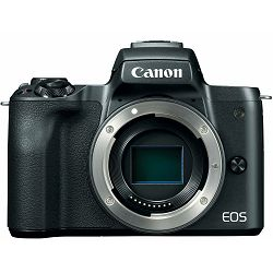 Canon EOS M50 Body Black Mirrorless Digital Camera crni Digitalni fotoaparat tijelo (2680C069AA)